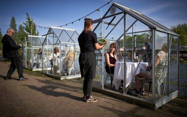 Coronaproof dineren in Amsterdam