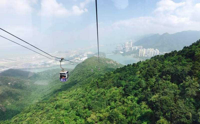 the ngong ping cable car 360