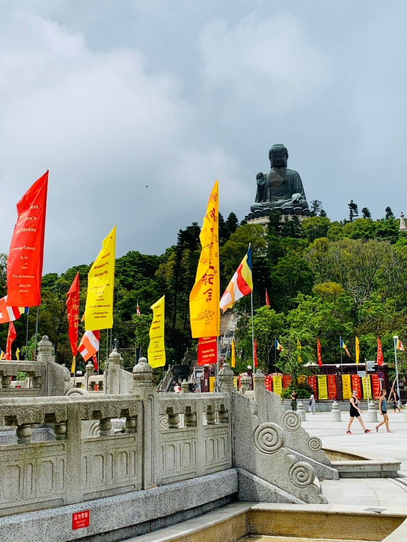 Big Buddha at Ngong Ping Village