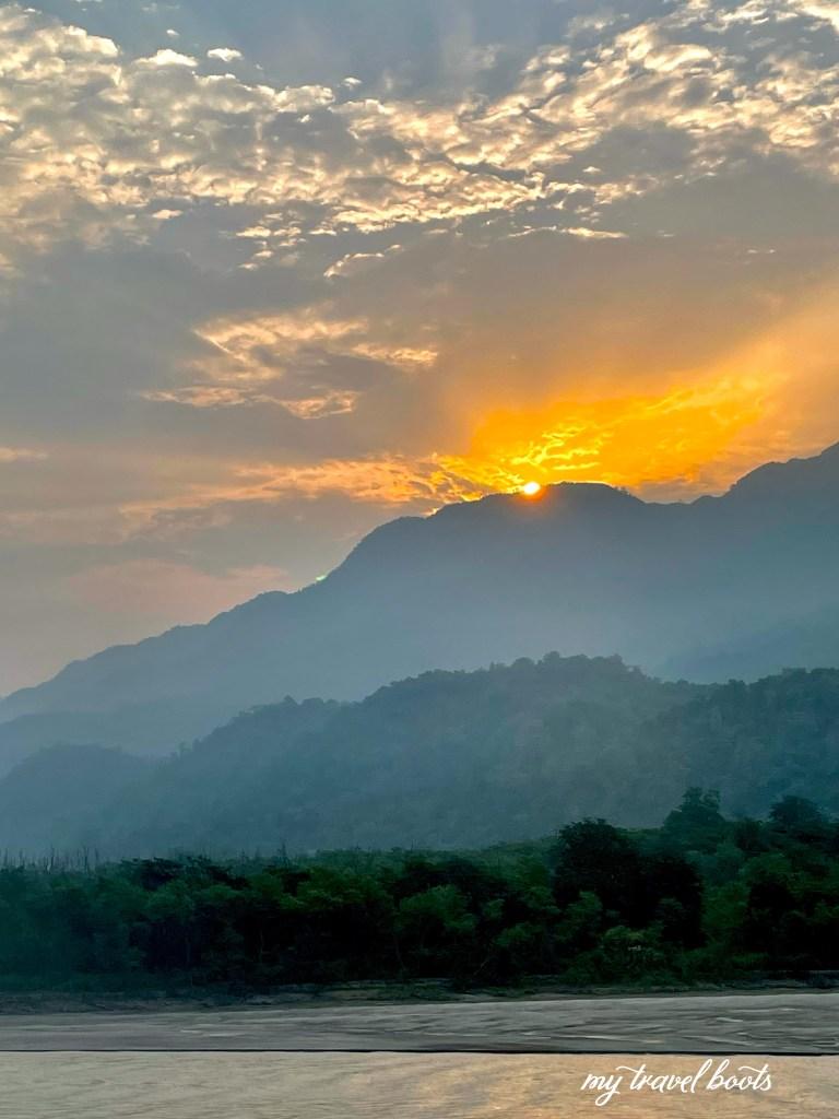 Sunrise at Rishikesh