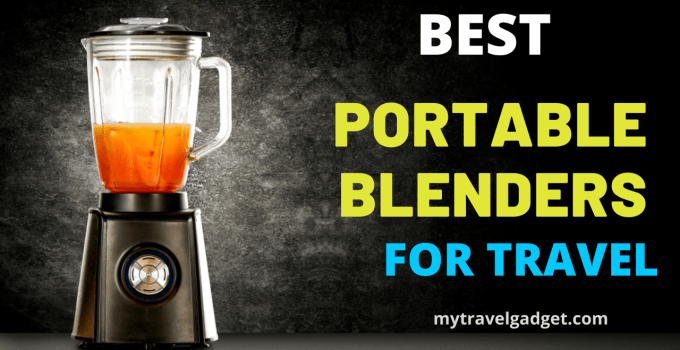 best portable blenders for travel