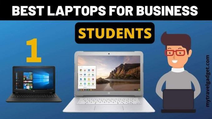 best laptops for business students