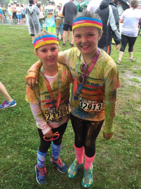 10 Tips for a fun Color Run for the whole family.