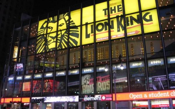 Lion King NYC mytravelingkids.com