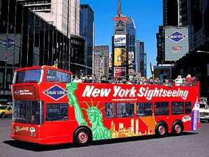 Hop-On Hop-Off Bus Tour NYC