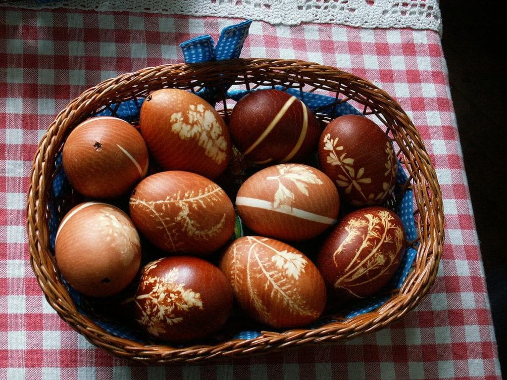 Easter customs Eggs