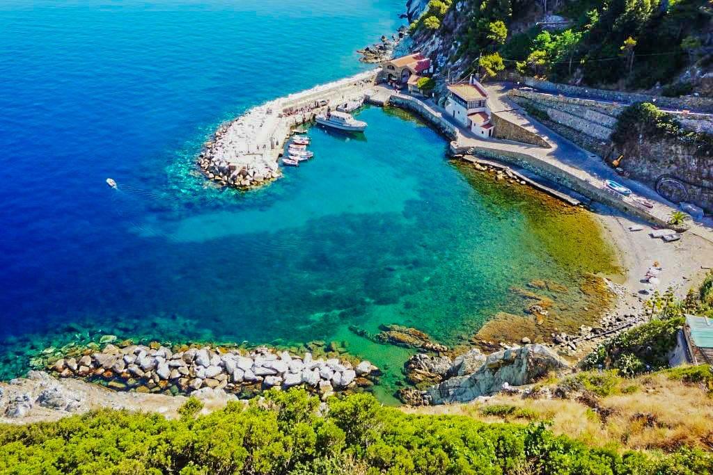 Gorgona Island of Tuscany