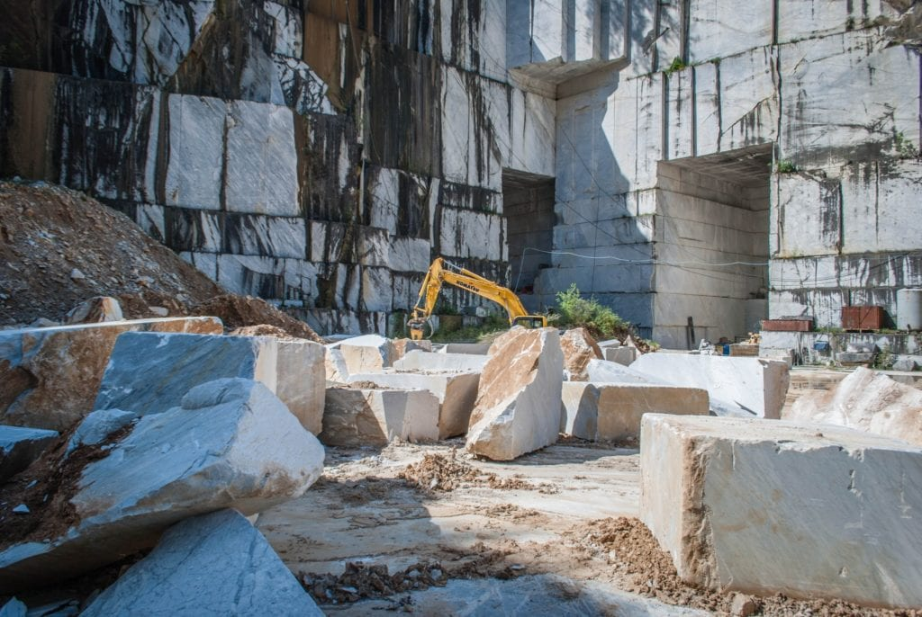 Marble quarries of Carrara