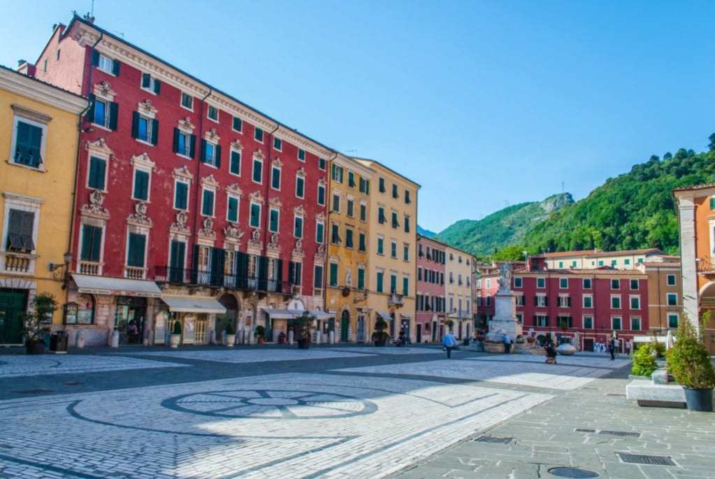 Piazza Alberica Carrara Tuscany