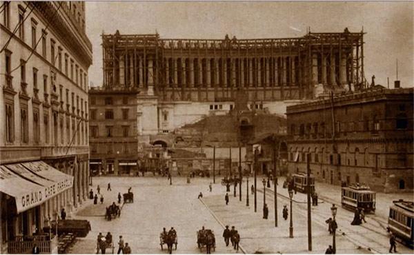 Vittoriano old picture Republic Day