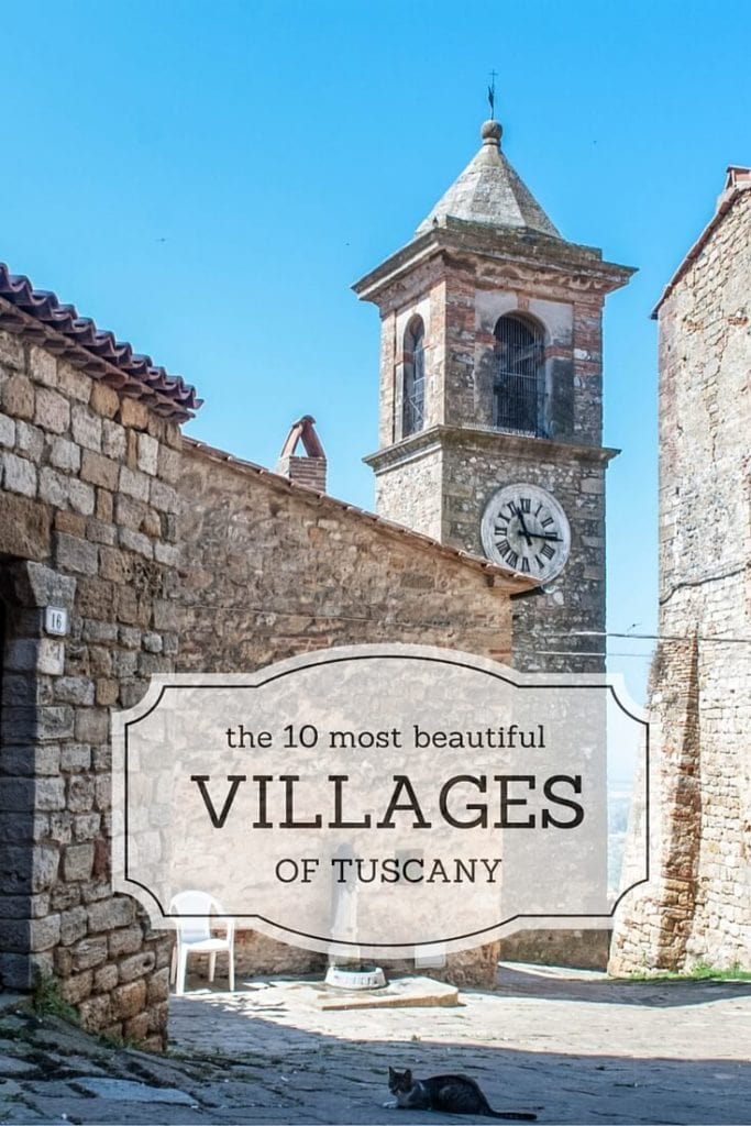 10 most beautiful villages of tuscany