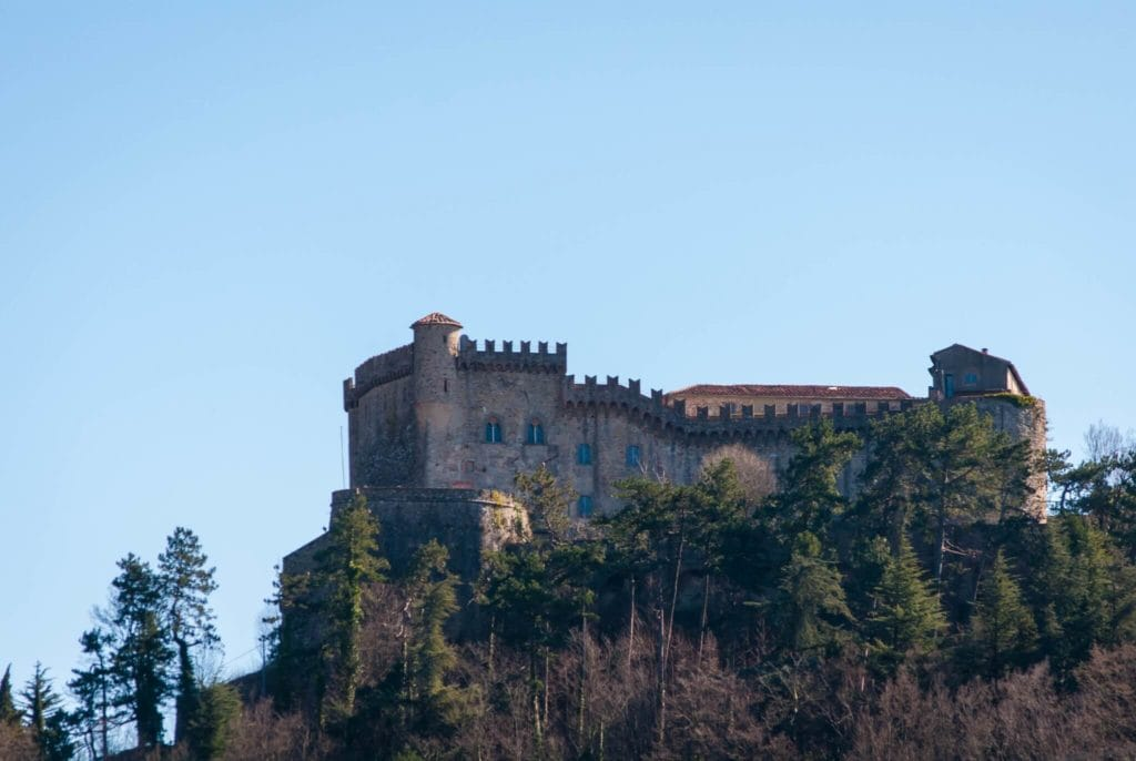 Fosdinovo castle Villages in Tuscany