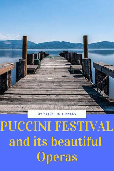 Puccini Festival brochure Pinterest
