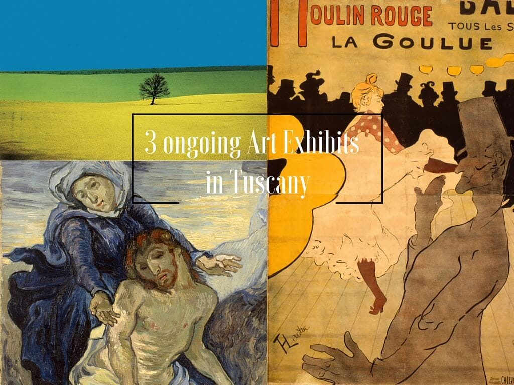 Cover art exhibits in tuscany