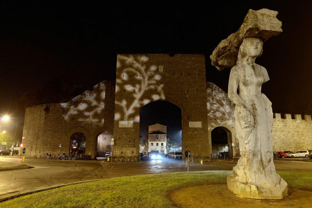 light festival Florence THE PORTA ROMANA GATE MY TRAVEL IN TUSCANY