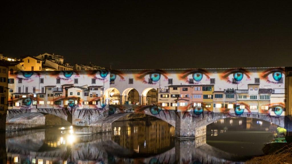 Florence Pontevecchio enlightened for f-light festival