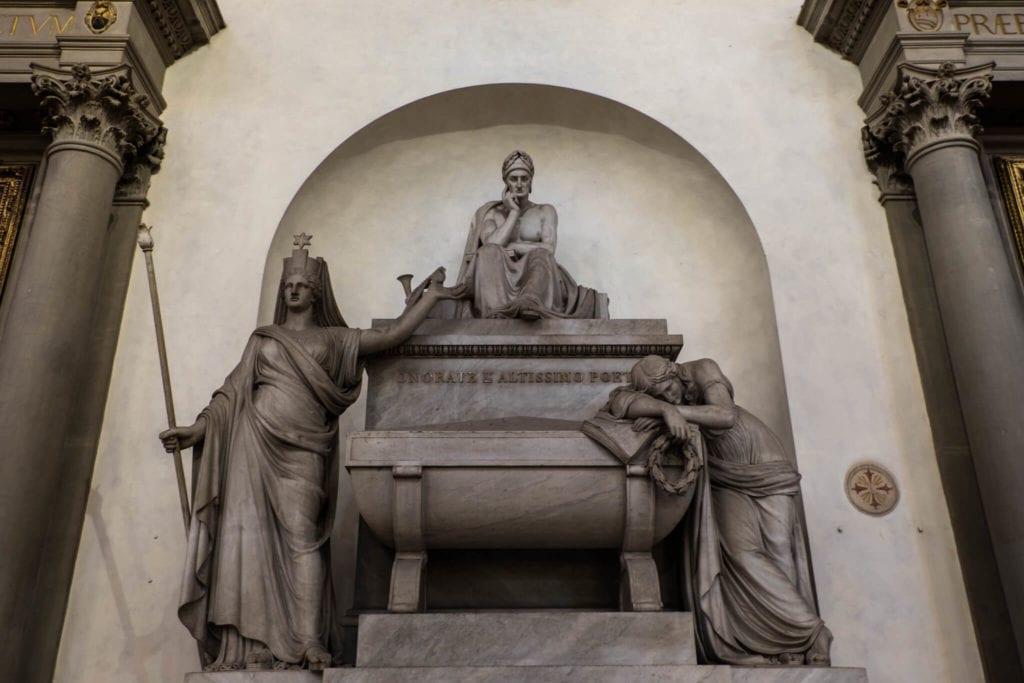 Dante cenotaph Santa Croce Florence