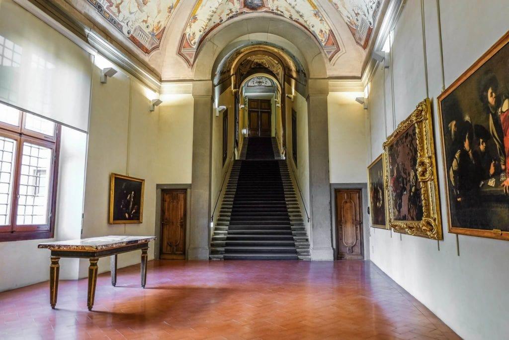 First room Vasari Corridor