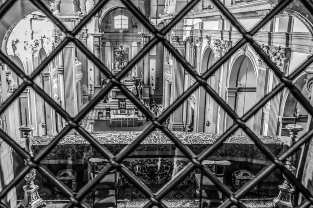 Santa Felicita Churc Vasari Corridor