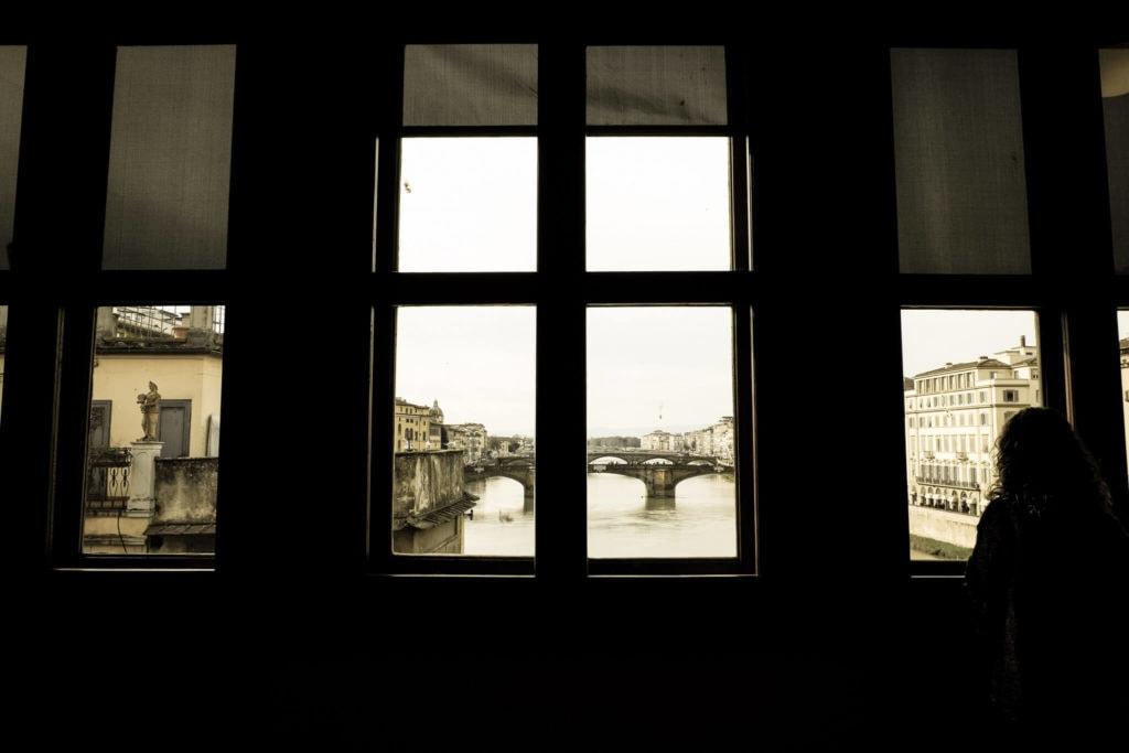 View from the Vasari Corridor