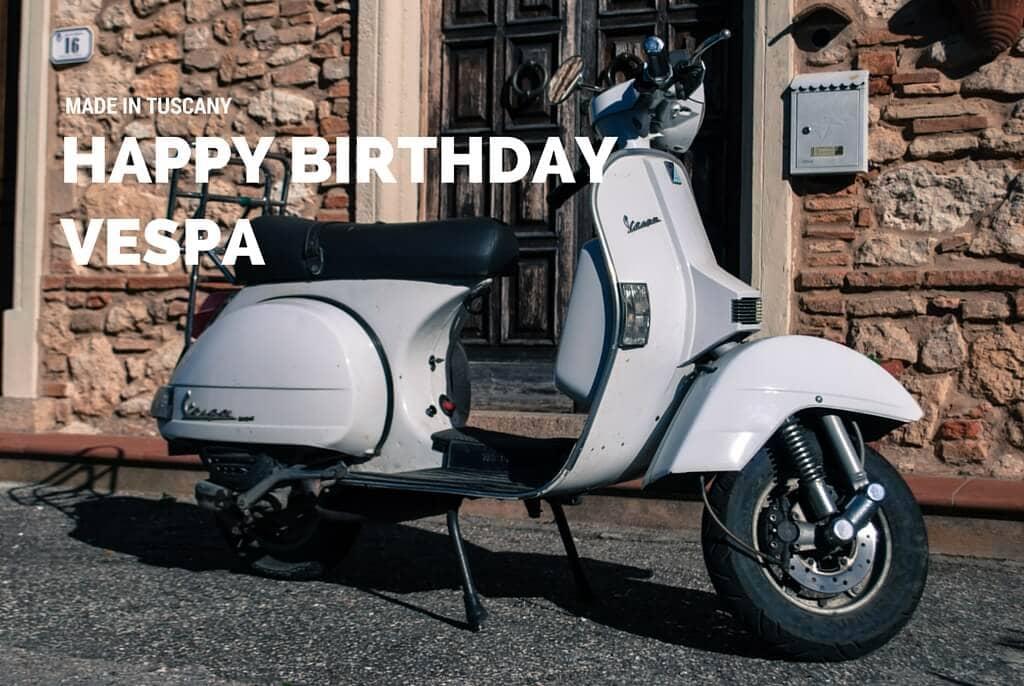 Happy Birthday Vespa