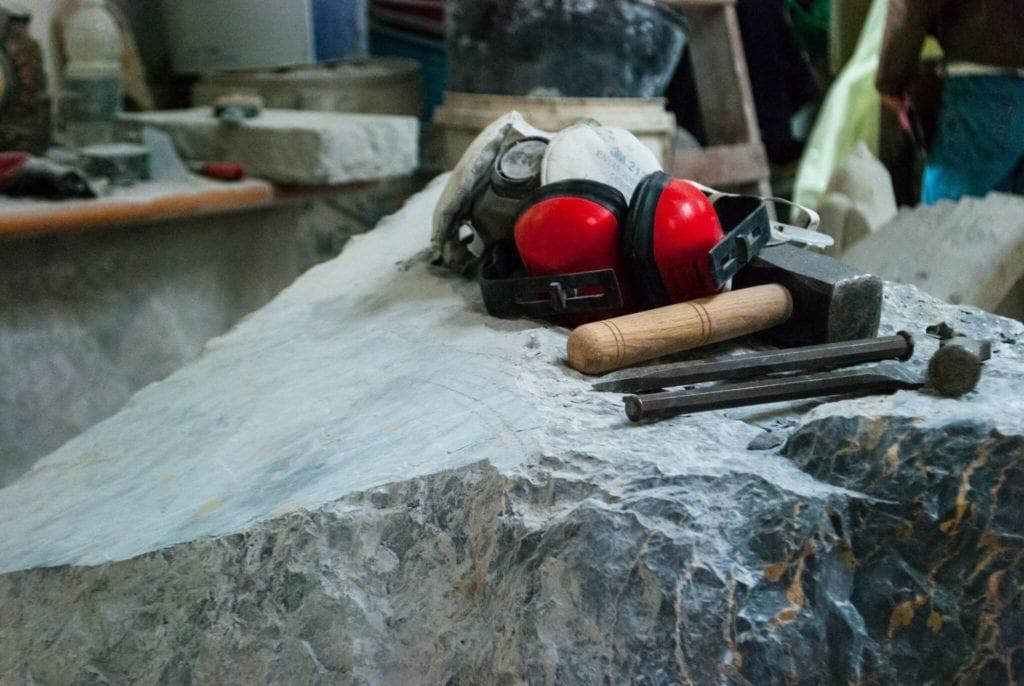 Marble workshop Carrara Studi Aperti