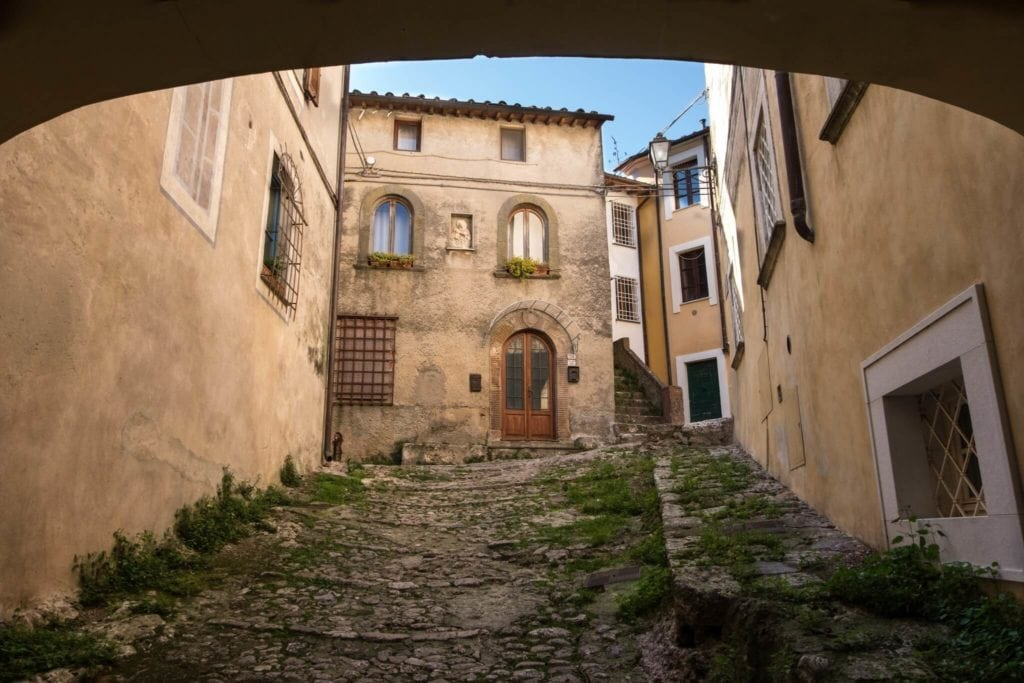 Monteggiori the arch