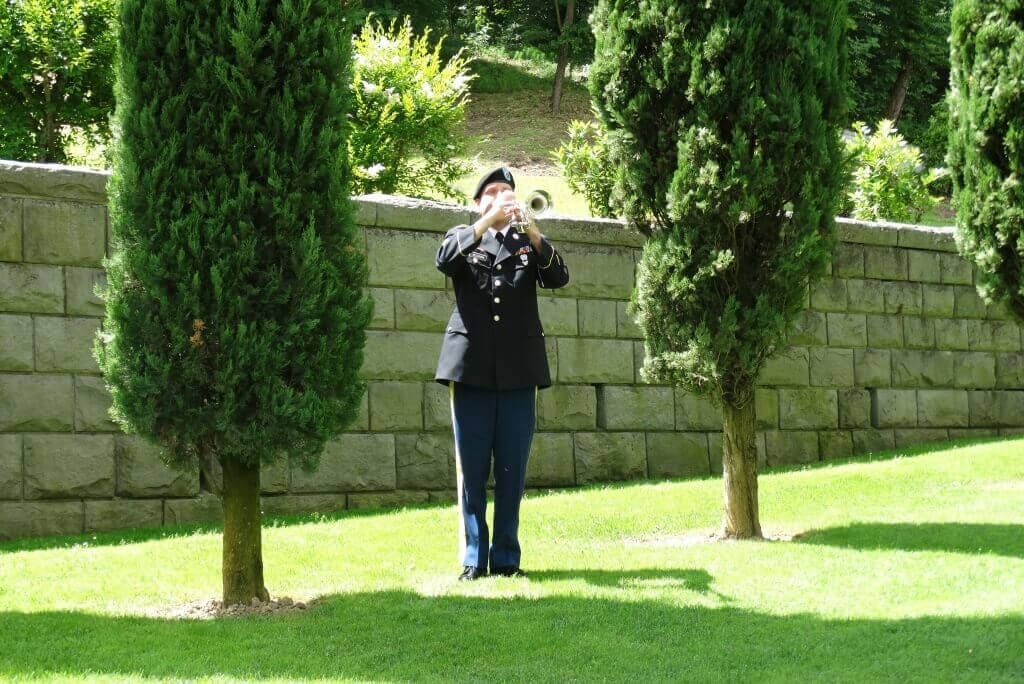 Florence American Cemetery and Memorial US Army Bugler