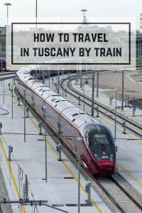 Travel in Tuscany by train