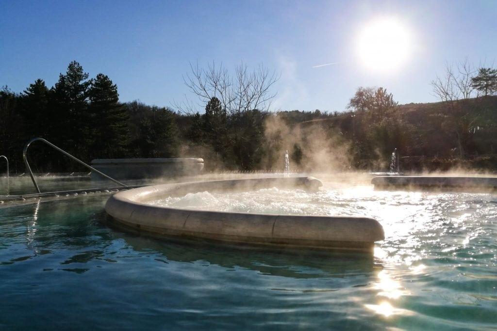 Chianciano hot springs