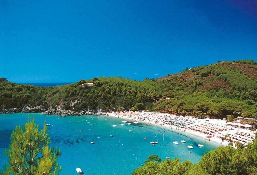 fetovaia beach Elba Island