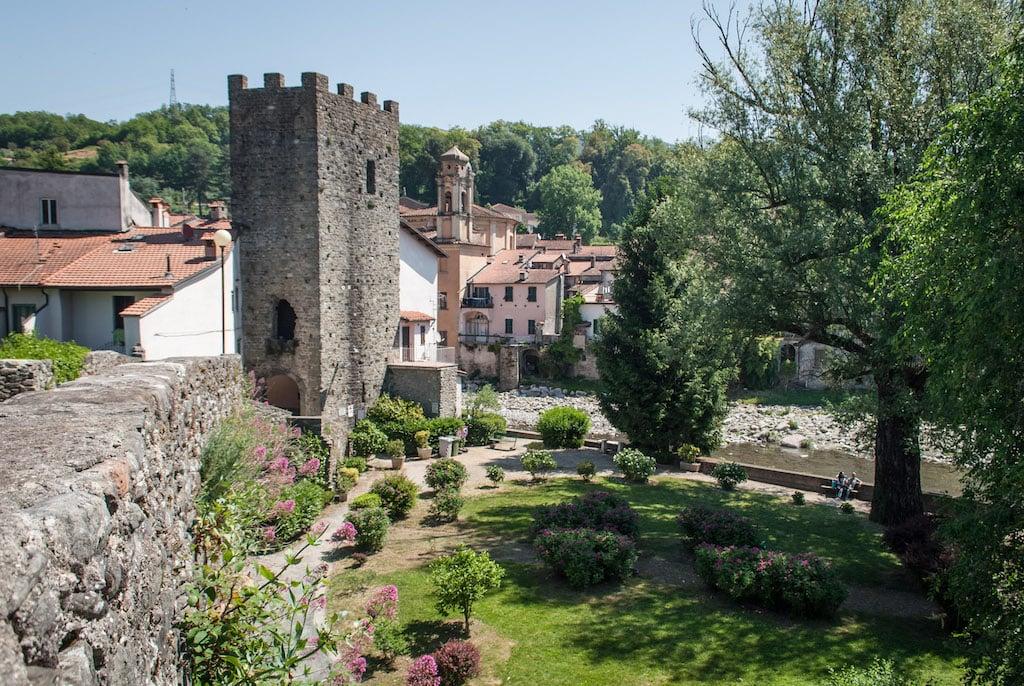 Pontremoli Tuscany Parco della Torre