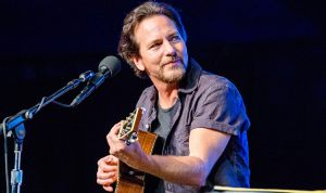 Eddie Vedder in Concert at Firenze Rocks 2019 festival