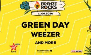 Firenze Rocks 2020 Green Day 11 June