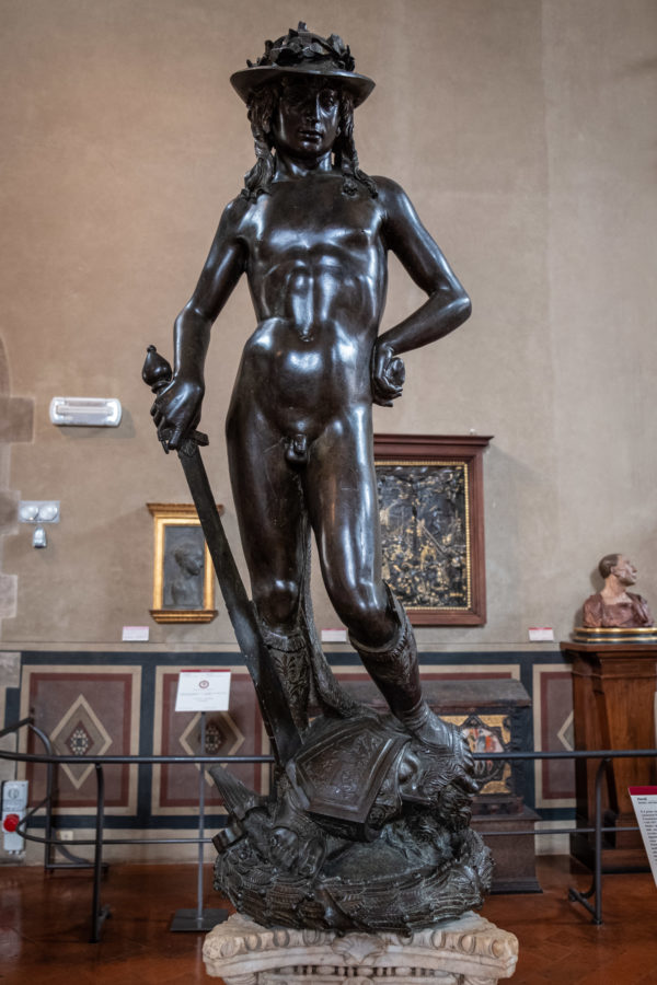 Donatello's David at Bargello Museum