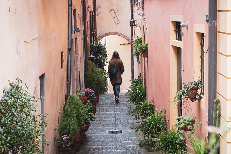 Little Alley in Lari, Valdera in Tuscany