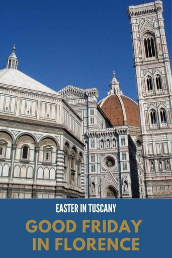 Good Friday in Florence Pinterest cover