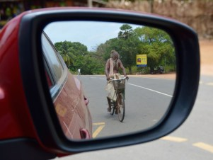 Sadhu on the road...
