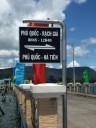 Island-mainland ferry times..