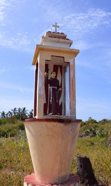 A saint's shrine...
