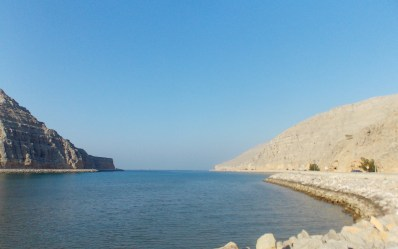 Fjord on the way to Khasab...