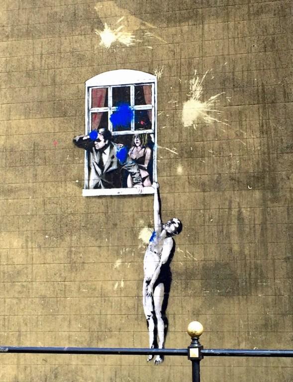 Banksy Window, Bristol