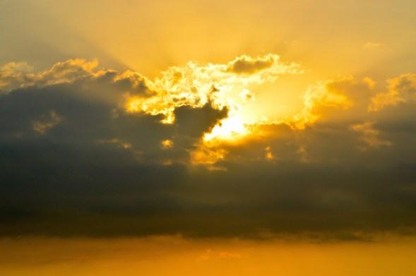 Sky over Lombok, Indonesia....