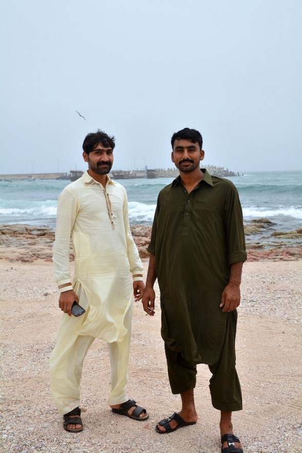 It was the first day of Eid and these two were fascinated by my camera and made willing models...