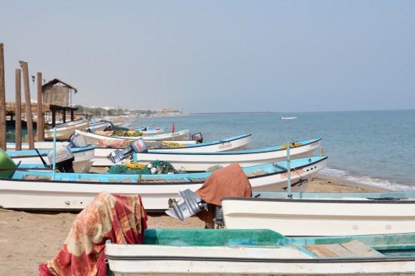 Fishing boats at As Seeb...