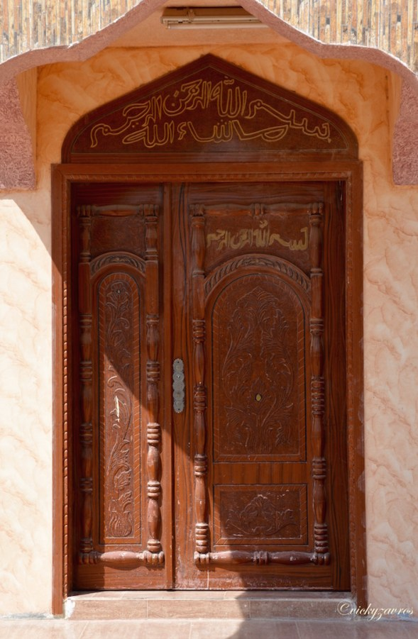 I would love to see what is behind this door....