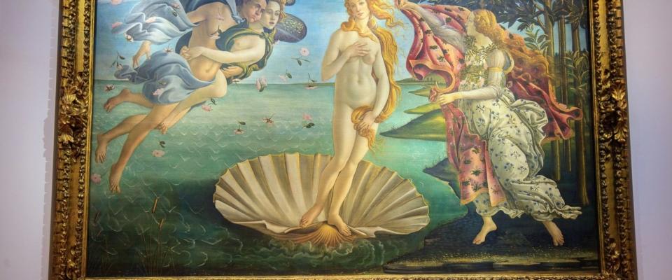 Florencja. Ufizzi. Narodziny Wenus