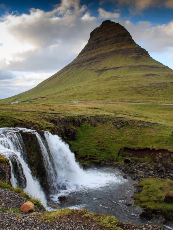 Islandia Półwysep Snæfellsnes, gora Kirkjufell
