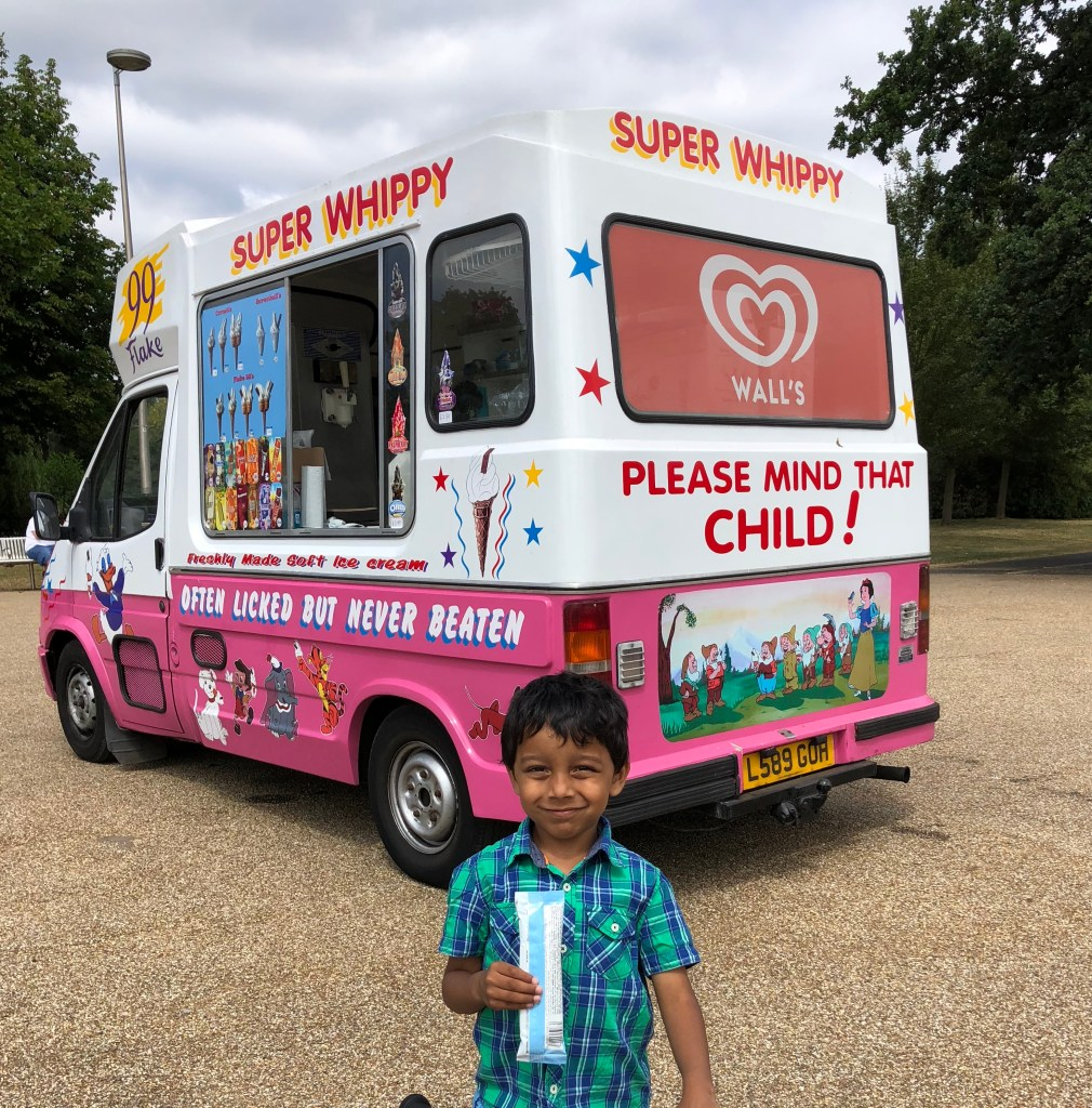 ice cream van summer