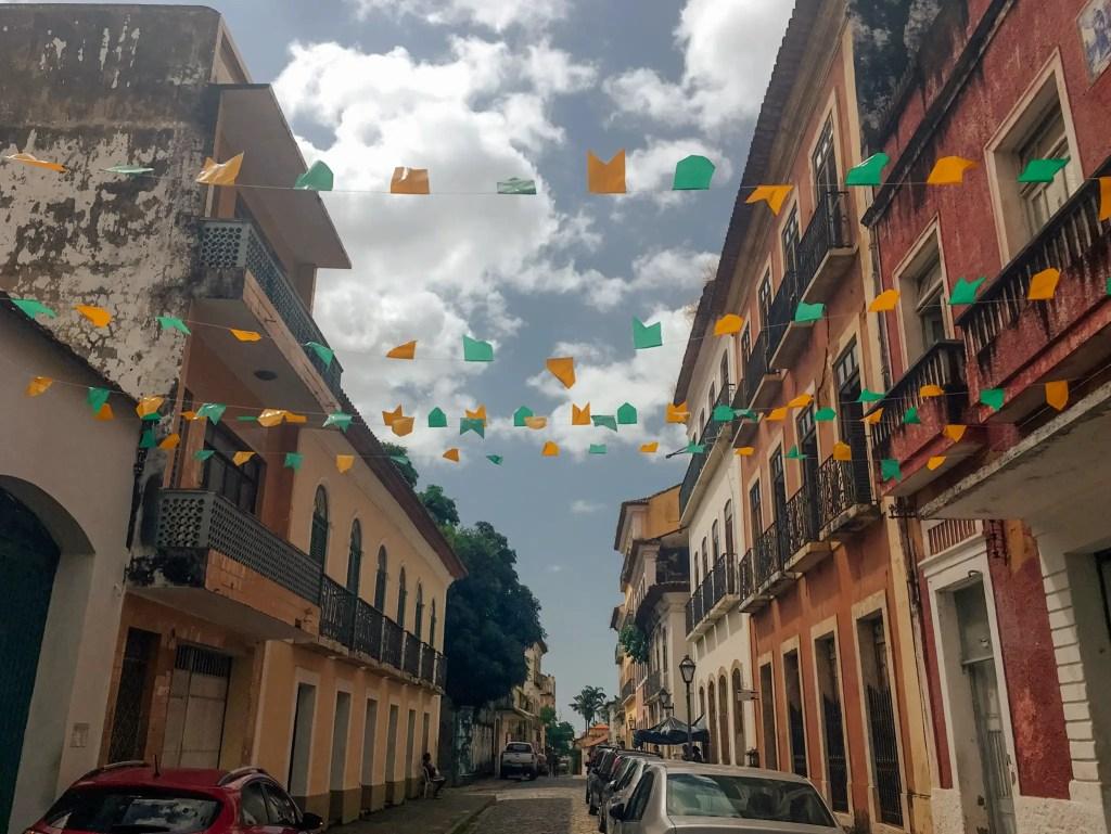 rues de sao luis brésil